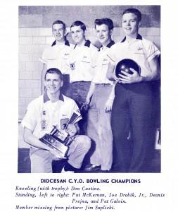 1962 Bowling Champs