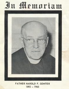 1965 Fr. Gonter memorial