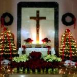 Christmas altar 2012