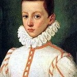 St. Aloysius as a young man
