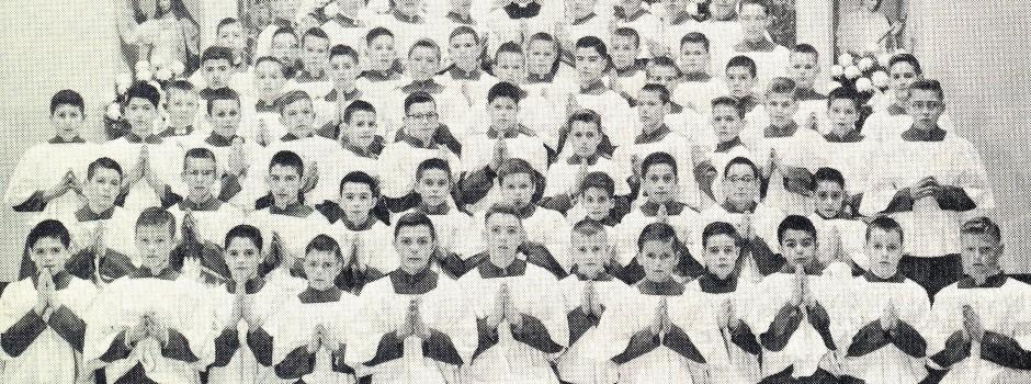 slide Altar Boys 1959